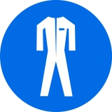 Работа в защитной одежде