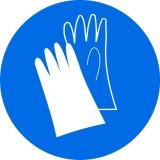 Работа в защитных перчатках